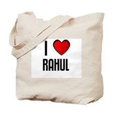 I LOVE RAHUL Tote Bag