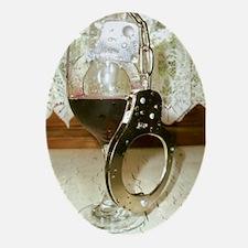 MADD, DUI, Drunk Driving, Han Oval Ornament