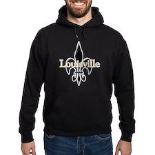 Louisville Fleur de Lis Hoodie