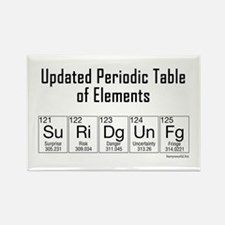 Updated Elements Rectangle Magnet (10 pack)