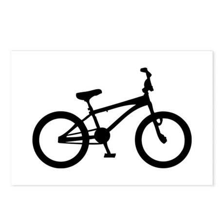 bmx bike bicycle Postcards (Package of 8)