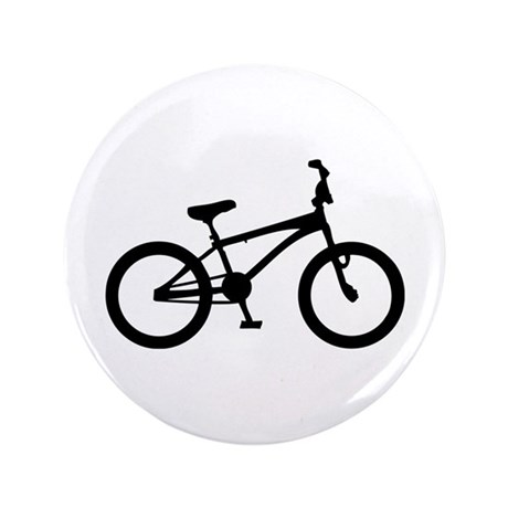 "bmx bike bicycle 3.5"" Button (100 pack)"
