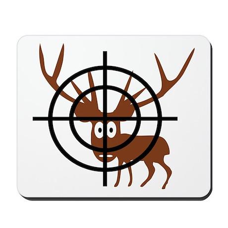 Deer Hunter Crosshair Mousepad