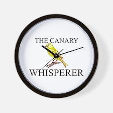 The Canary Whisperer Wall Clock