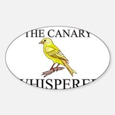 The Canary Whisperer Oval Decal