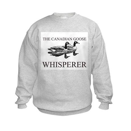 The Canadian Goose Whisperer Kids Sweatshirt