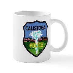 Calistoga Police Mug