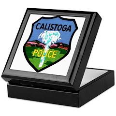 Calistoga Police Keepsake Box