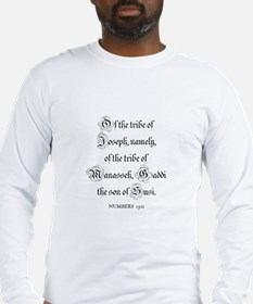 NUMBERS  13:11 Long Sleeve T-Shirt