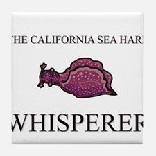The California Sea Hare Whisperer Tile Coaster