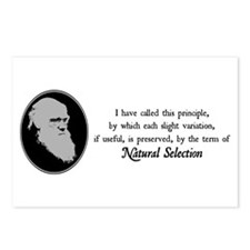 Natural Selection Quote Postcards (Package of 8)