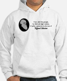 Natural Selection Quote Hoodie
