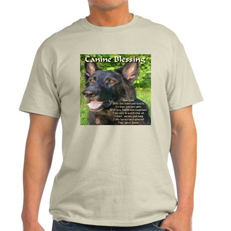 Canine Blessing Light T-Shirt