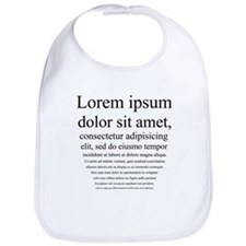 Lorem Ipsum Bib