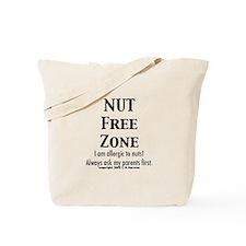 Unique Peanut allergy Tote Bag