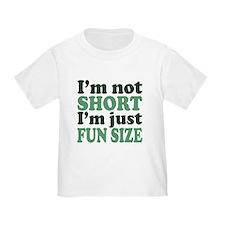 I'm not short! T