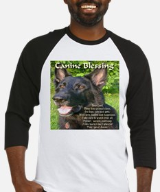 Canine Blessing Baseball Jersey