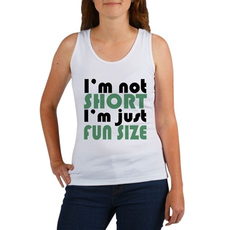 I'm not short! Women's Tank Top