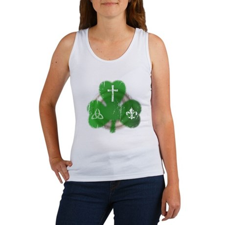 St. Patrick's Day Irish Women's Tank Top