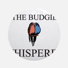 The Budgie Whisperer Ornament (Round)