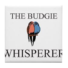 The Budgie Whisperer Tile Coaster
