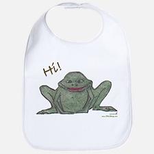 """Friendly Frog"" Bib"