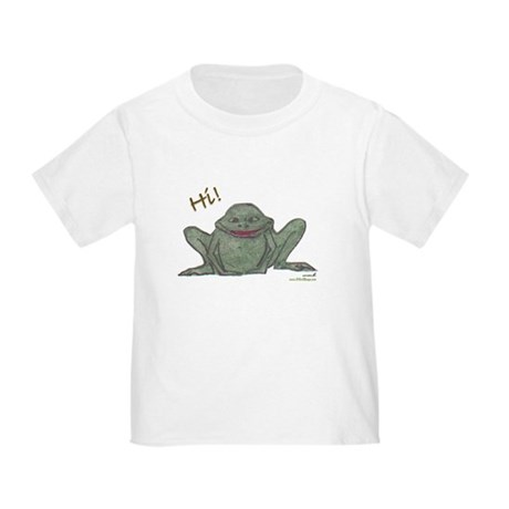 """Friendly Frog"" Toddler T-Shirt"