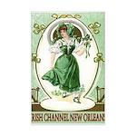 Irish Channel Woman Mini Poster Print