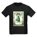 Irish Channel Woman Kids Dark T-Shirt