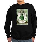 Irish Channel Woman Sweatshirt (dark)