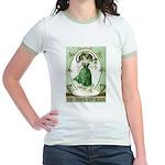 Irish Channel Woman Jr. Ringer T-Shirt