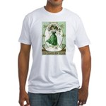 Irish Channel Woman Fitted T-Shirt