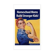 Build Stronger Rectangle Decal