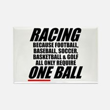 Why racing is the only real sport magnet