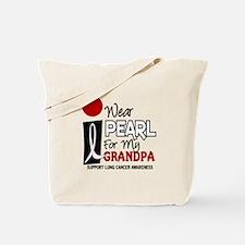 I Wear Pearl For My Grandpa 9 Tote Bag