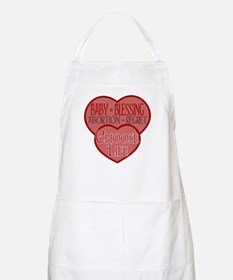 Baby Blessing; Abortion Regre BBQ Apron