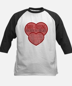 Baby Blessing; Abortion Regre Kids Baseball Jersey