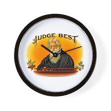 Judge Best Cigar Label Wall Clock