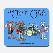 The Jam Cats band photo mousepad