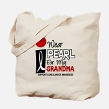 I Wear Pearl For My Grandma 9 Tote Bag