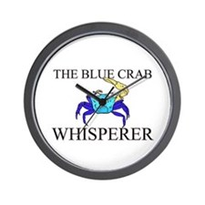 The Blue Crab Whisperer Wall Clock