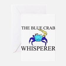 The Blue Crab Whisperer Greeting Cards (Pk of 10)