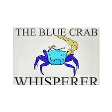 The Blue Crab Whisperer Rectangle Magnet