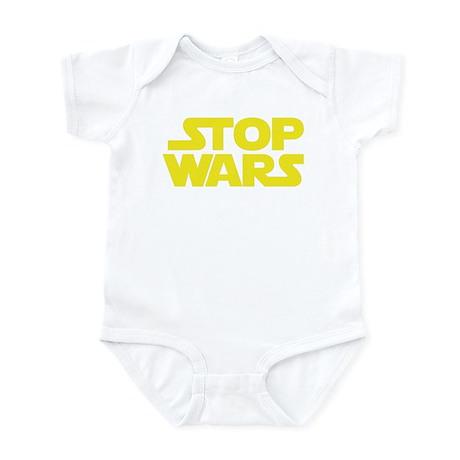 Stop Wars (A) Infant Bodysuit