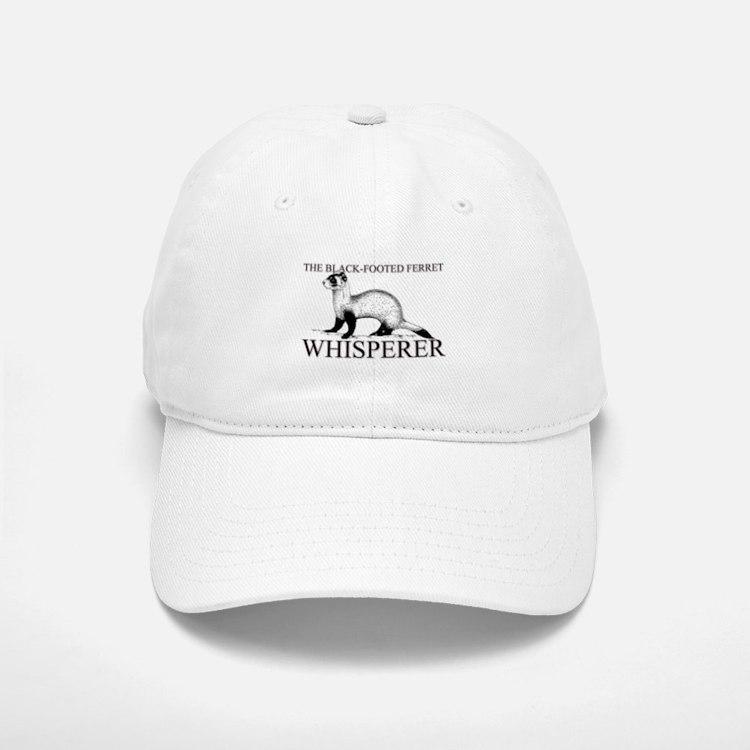 The Black-Footed Ferret Whisperer Baseball Baseball Cap