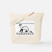 The Black-Footed Ferret Whisperer Tote Bag