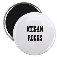 MEGAN ROCKS Magnet