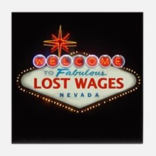 LOST WAGES Tile Coaster
