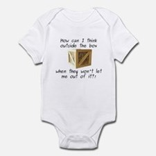 Think Outside the Box Infant Bodysuit