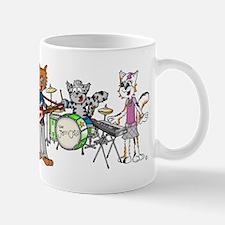 The Jam Cats band mug